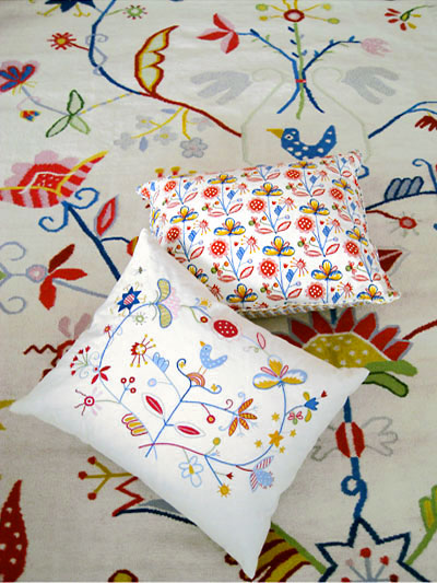 Alfhild Series Katarina Brieditis Textile Design